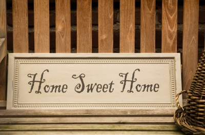 sweet home sign